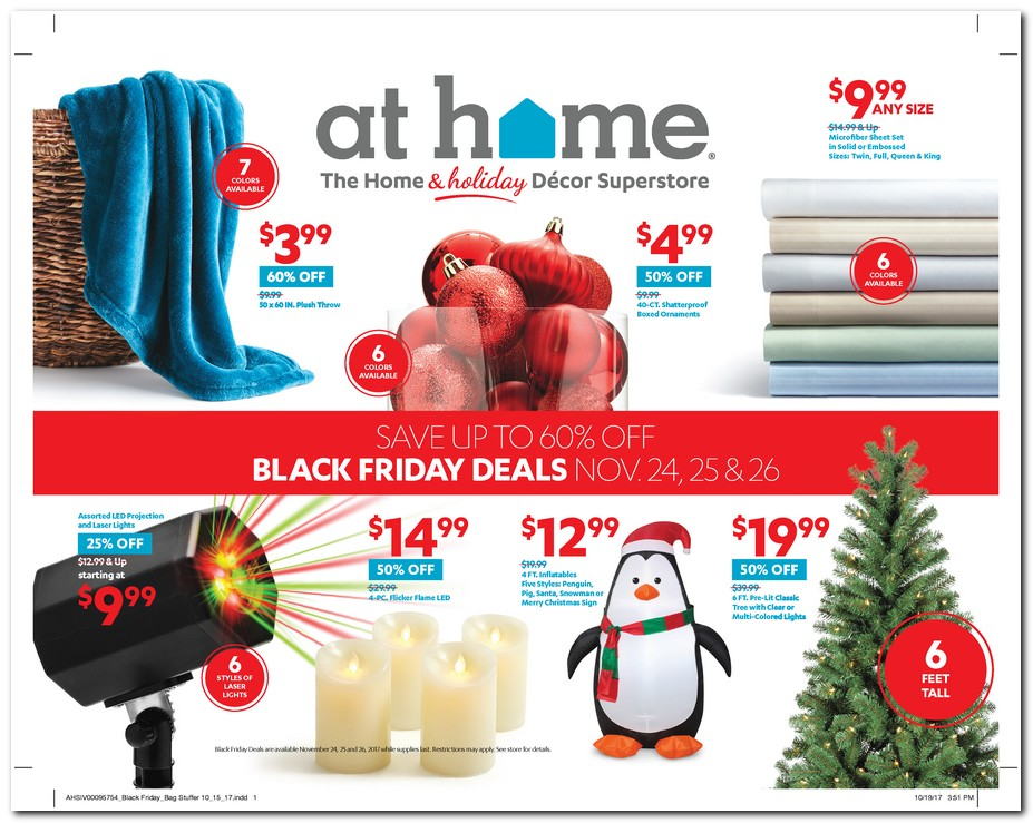 At Home Black Friday page 1